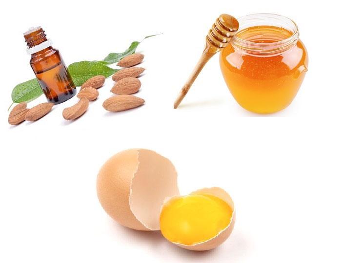 Làm trắng da mặt từ trứng gà mật ong và dầu oliu