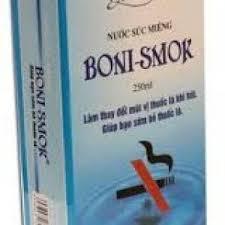 Cai thuốc lá bằng boni smok mang lại hiệu quả nhanh chóng như thế nào?