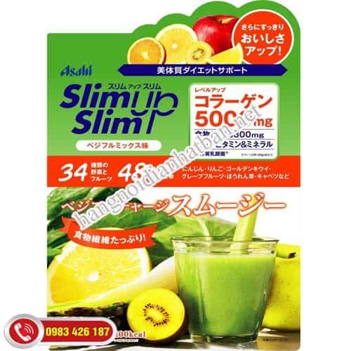 Chia sẻ sản phẩm giảm cân ASAHI Slim up Nhật Bản mua ở đâu tốt