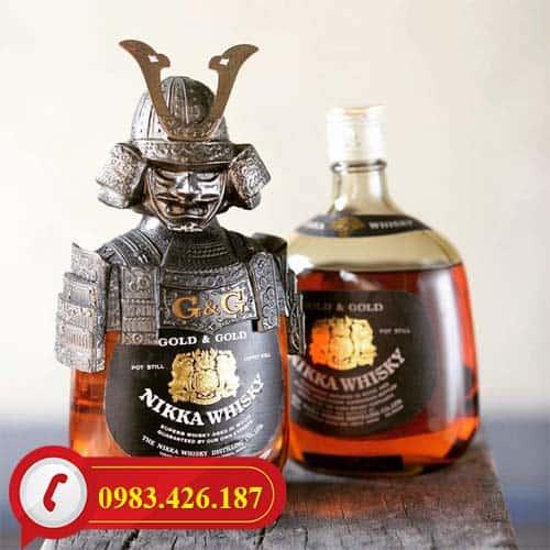 Rượu Whisky Nikka Samurai cao cấp chính hãng