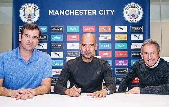 NÓNG: Guardiola gia hạn 2 năm với Man City ngay trước đại chiến với Mourinho