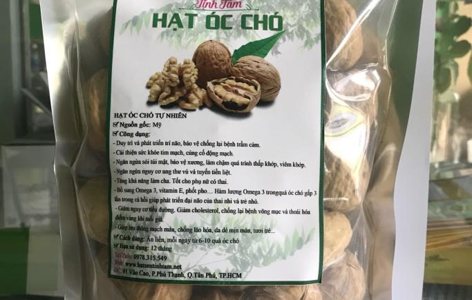 Qủa óc chó Mỹ, hạt dinh dưỡng tốt cho mẹ và bé mua ở đâu tại Khánh Hòa