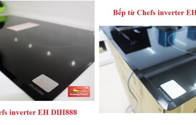 Tư vấn lựa chọn giữa bếp từ chefs eh dih888 hay dih888p